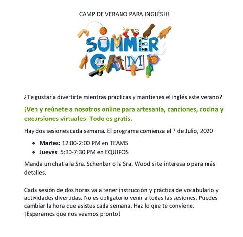 ENL Summer Camp