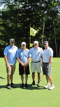 Winners of the 3rd annual - Gary Tomzyck Jr., Allen Olsen, Jason Richers, Bob Gatchell