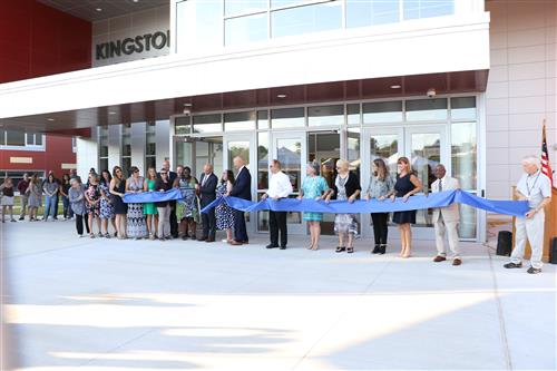 Salzmann Entrance Ribbon Cutting Celebration, August 2018