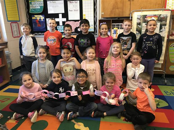 Our class kindness chain