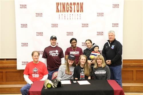 Shannon and Sydney Bonewit, KHS Ceremonial College Signing Day