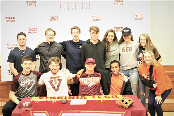 College Signing Ceremony for Four KHS Senior Athletes