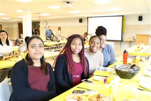 KHS students at TSTT brunch