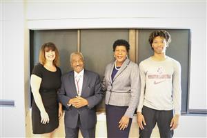 Beth Bonville, Rev. Childs, Dr. Perkins, Brian Moore