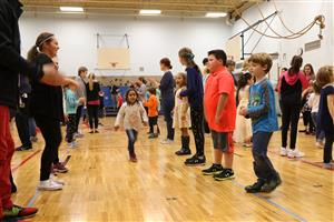 Family Folk Dancing Night at Edson Elementary