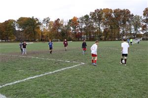 Boys Modified Soccer Team at practice
