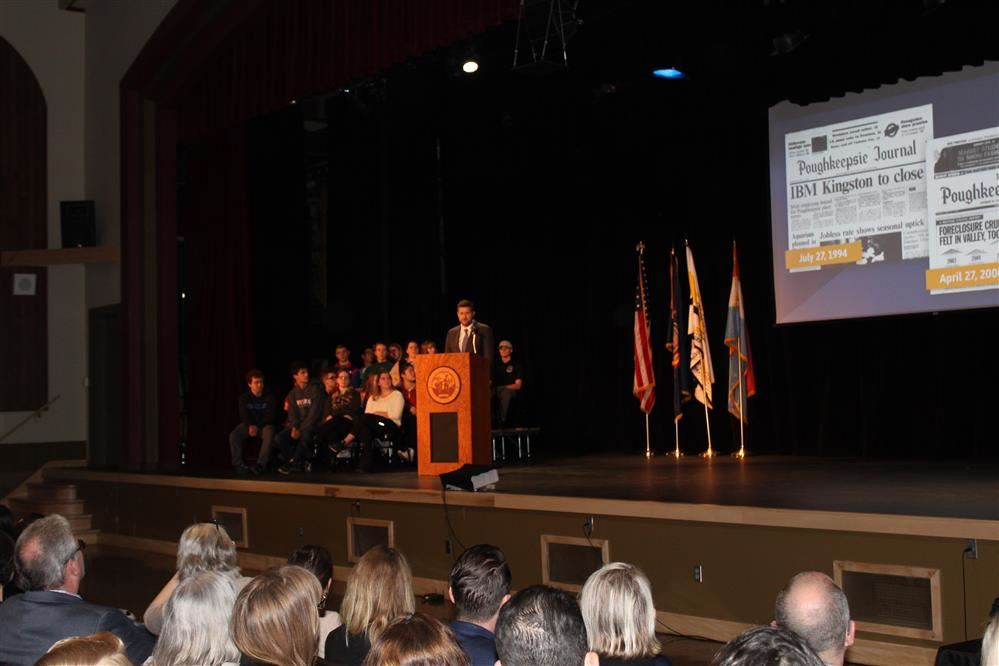 State of the County Address at New Wendell A. Scherer Theatre