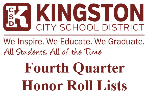 KCSD 4th Quarter Honor Rolls