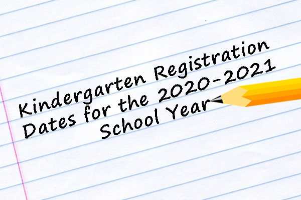 Important Information About Registration for 2020-21 School Year