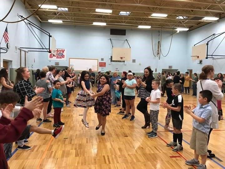 Edson Elementary hosts Family Folk Dance Night!