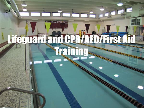 Lifeguard and CPR/AED/First Aid Training