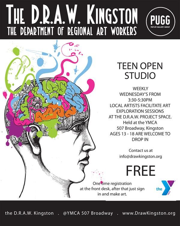 New Art Opportunities with PUGG at the YMCA