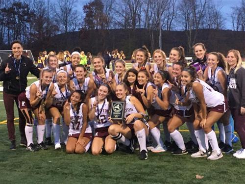 Undefeated Field Hockey Team Wins 13th Straight Title!